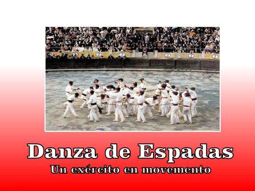Danza de Espadas en Marín