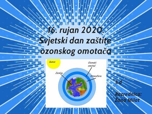 Međunarodni dan zaštite ozonskog omotača