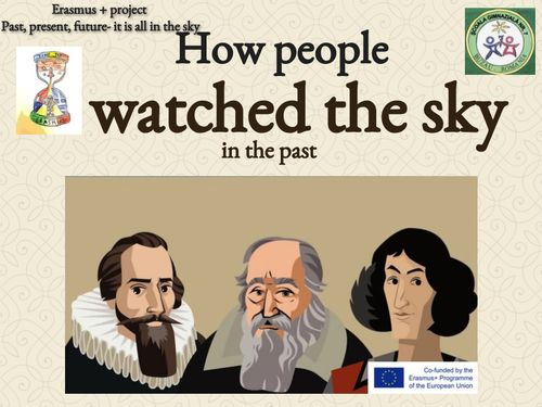 How people watched the sky in the past
