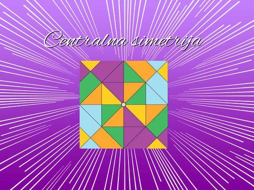 Centralna simetrija (8.d)