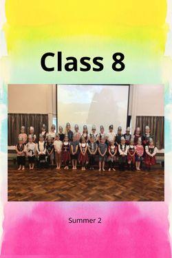 Class 8 Summer 2