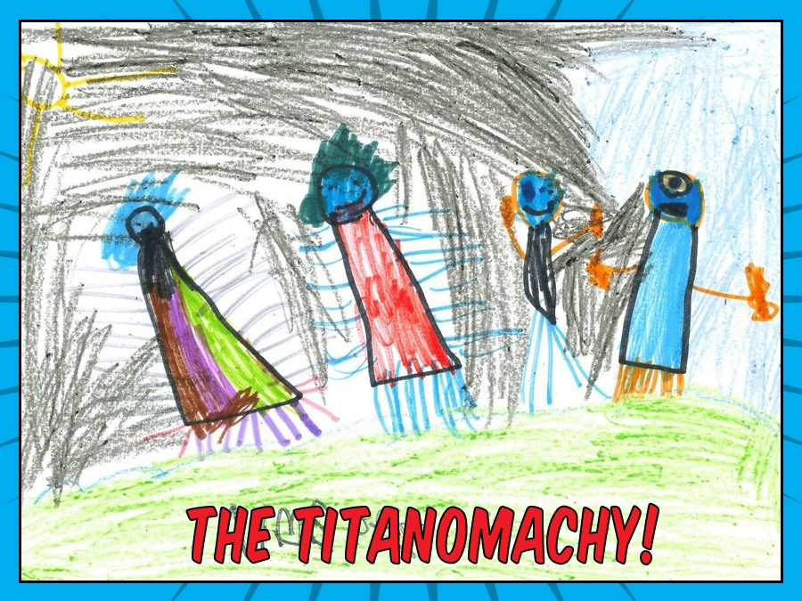 The Titanomachy (open book)