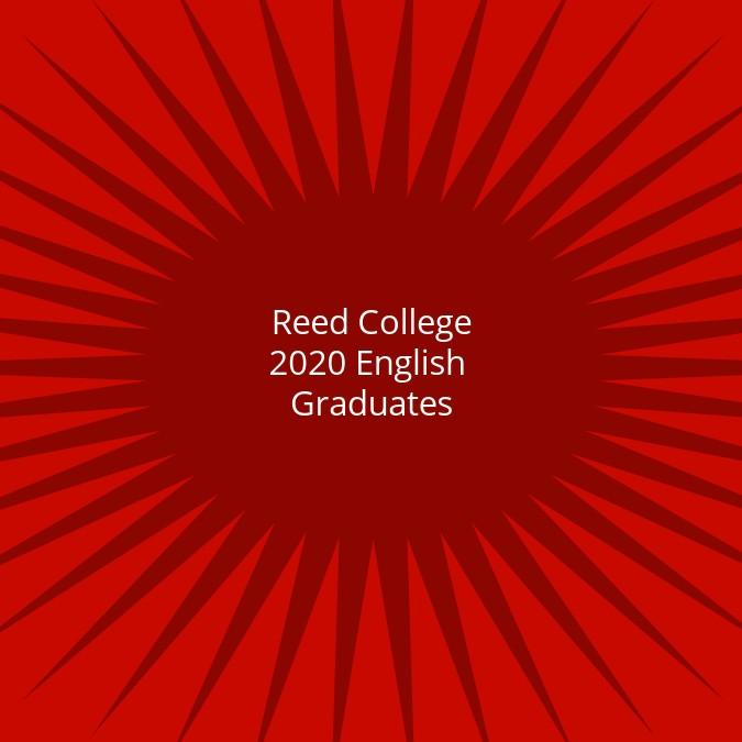 2020 English Graduates
