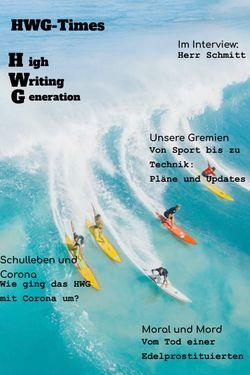 HWG-Schülerzeitung, Ausgabe 1, Juli 2021