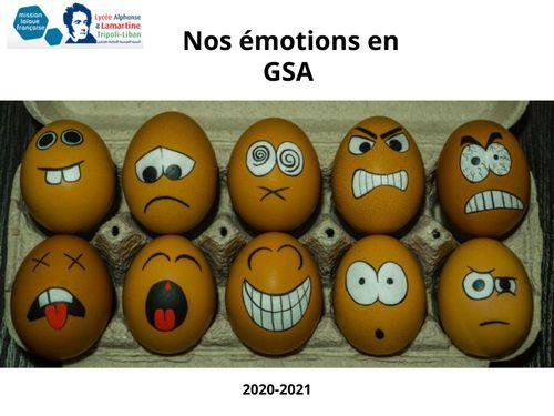 Nos émotions GSA