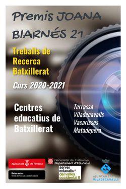 Premis Joana Biarnés TR 2021