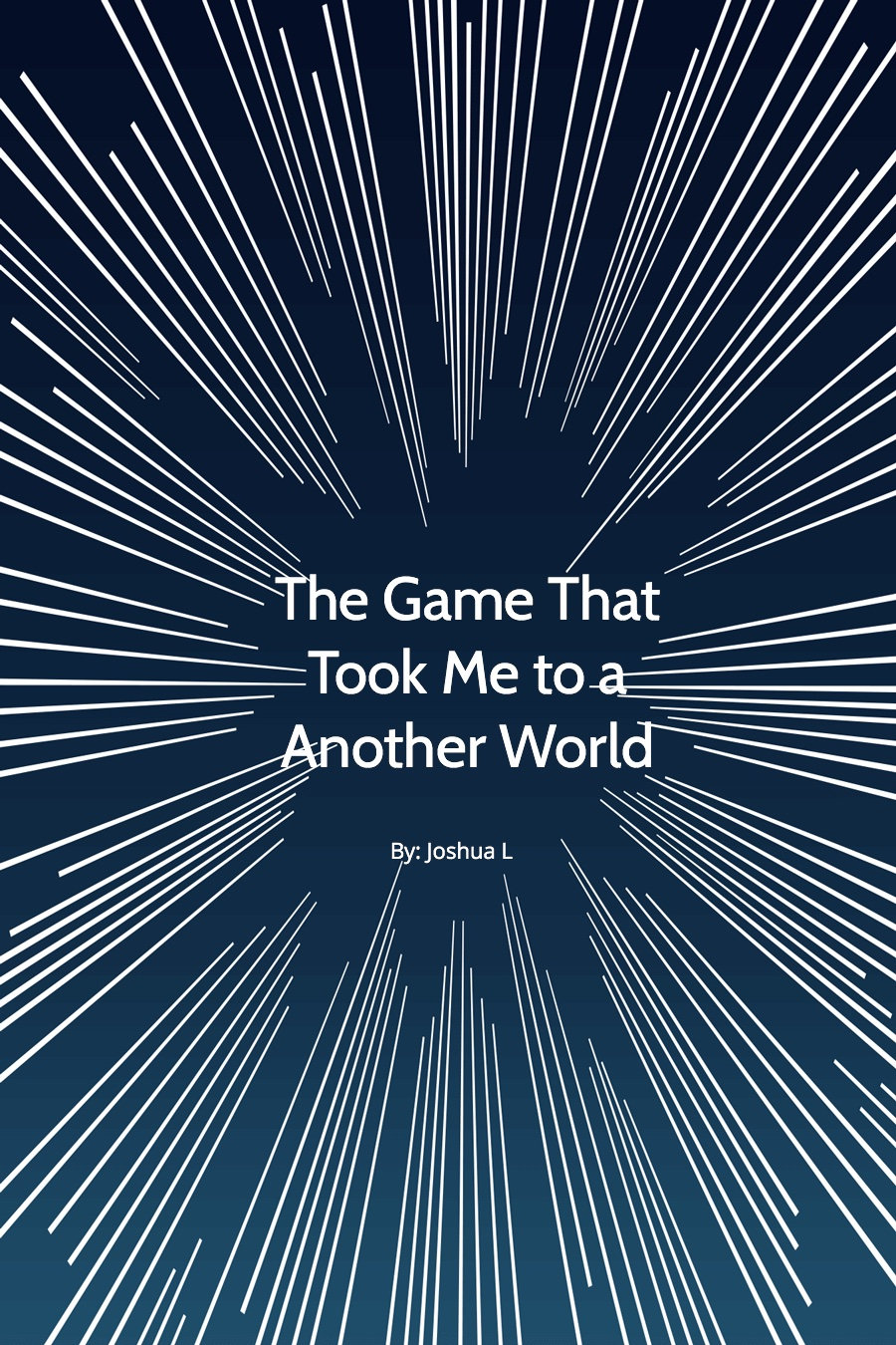 The Game That Took Me to a Another World