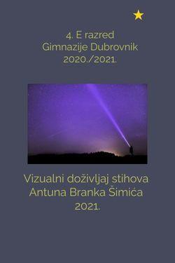 Vizualni doživljaj stihova A. B. Šimića