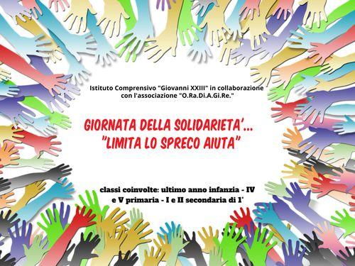 giornata della solidarietà