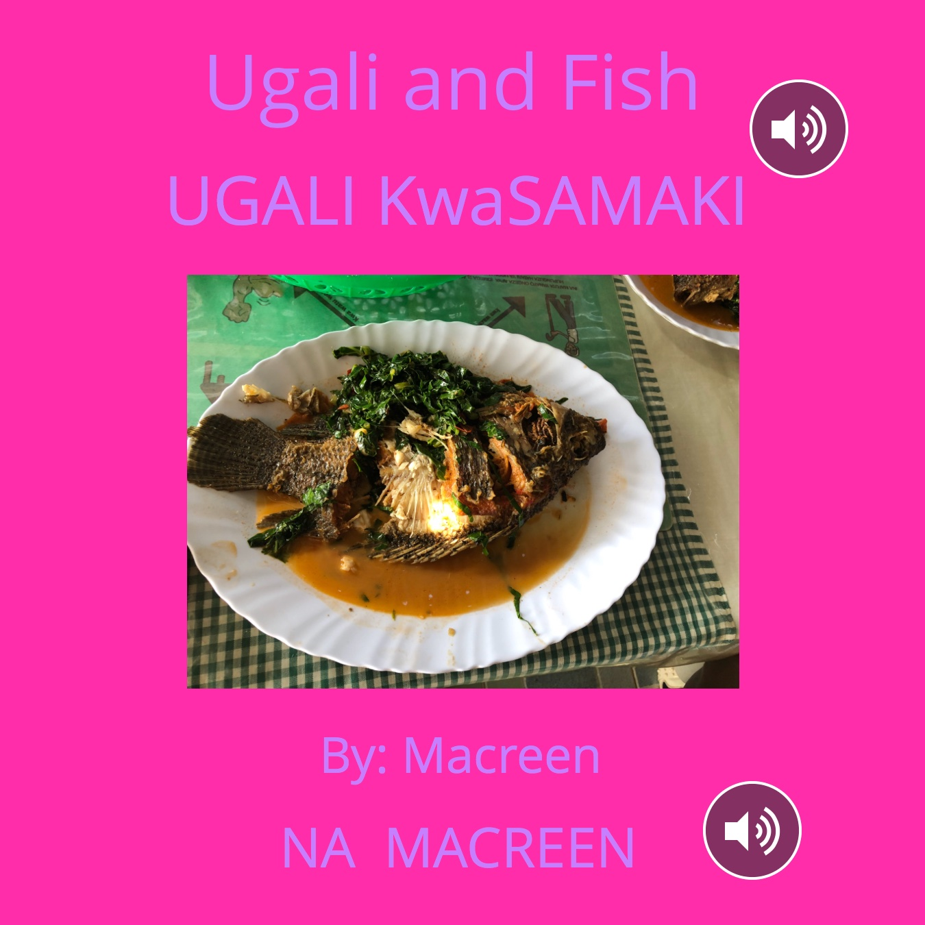 Ugali and Fish