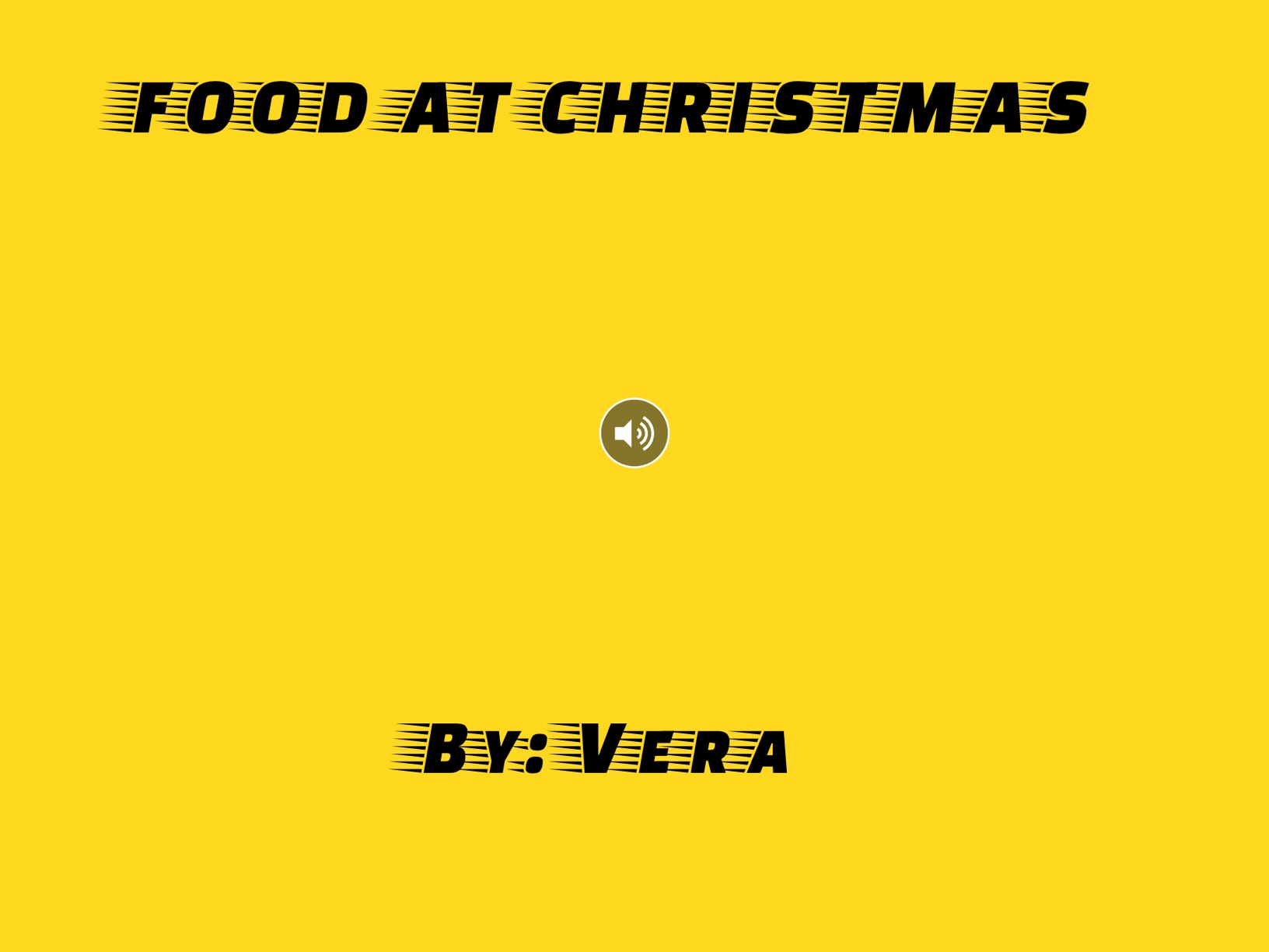 Food At Christmas