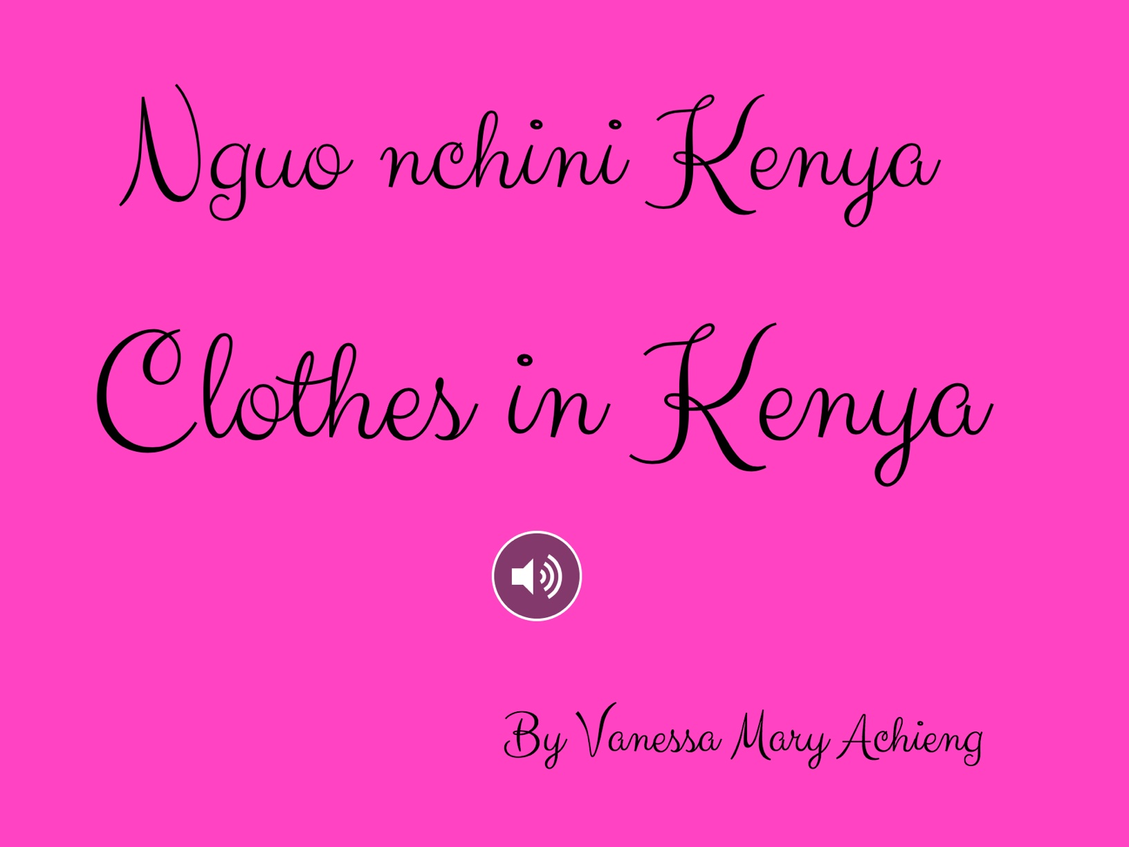 Clothes In Kenya