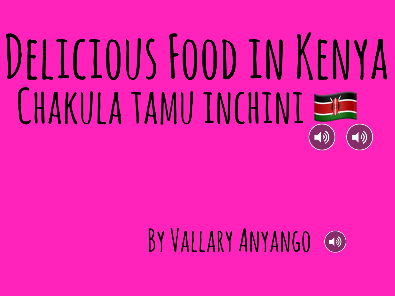 Delicious Food In Kenya