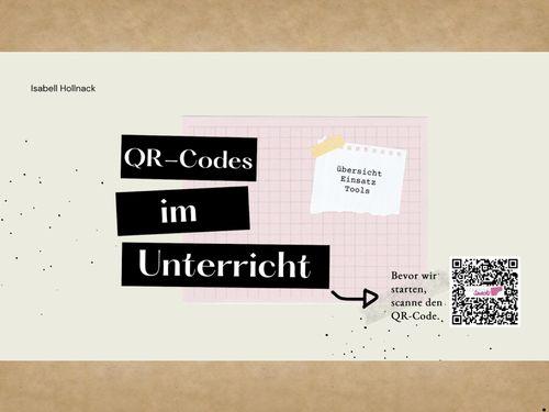 QR-Codes erstellen - eBook zur SchiLf