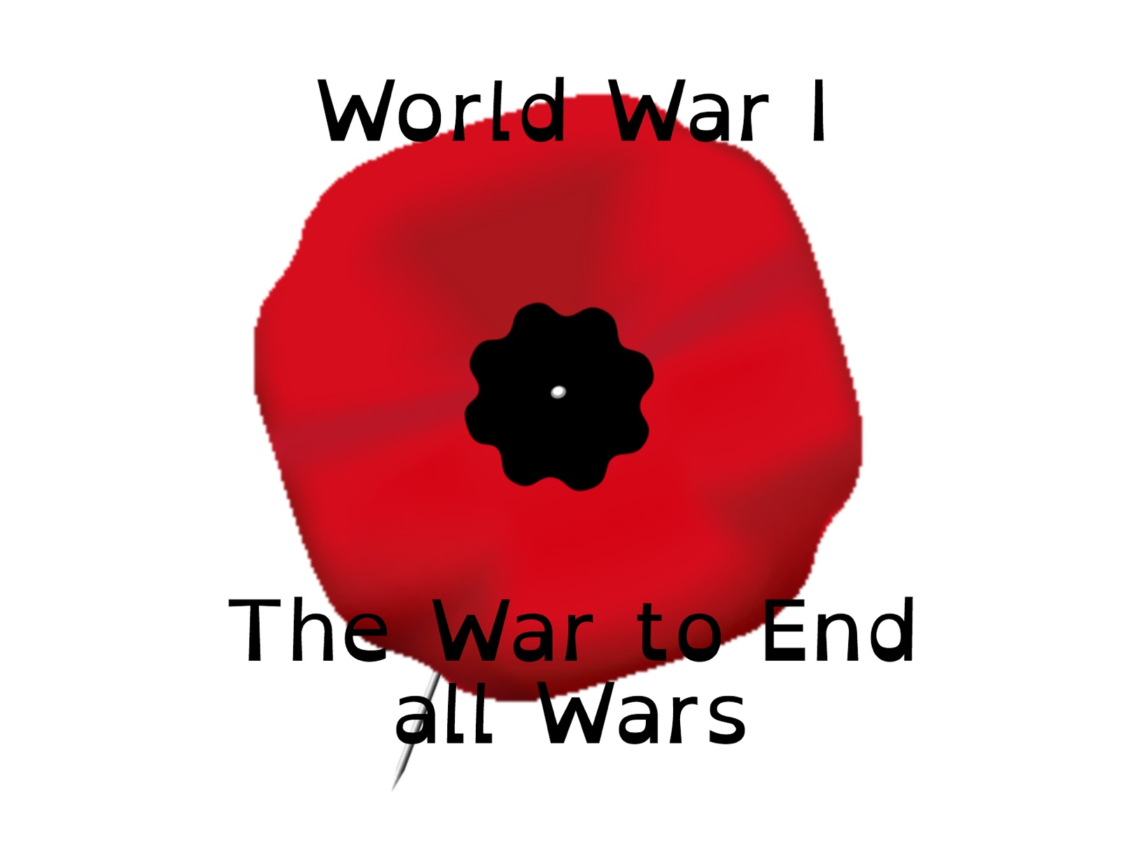 World War I-The War to end all Wars