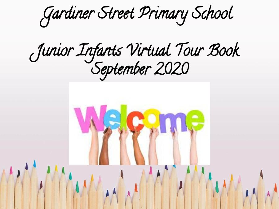 Junior Infants Virtual Tour Book