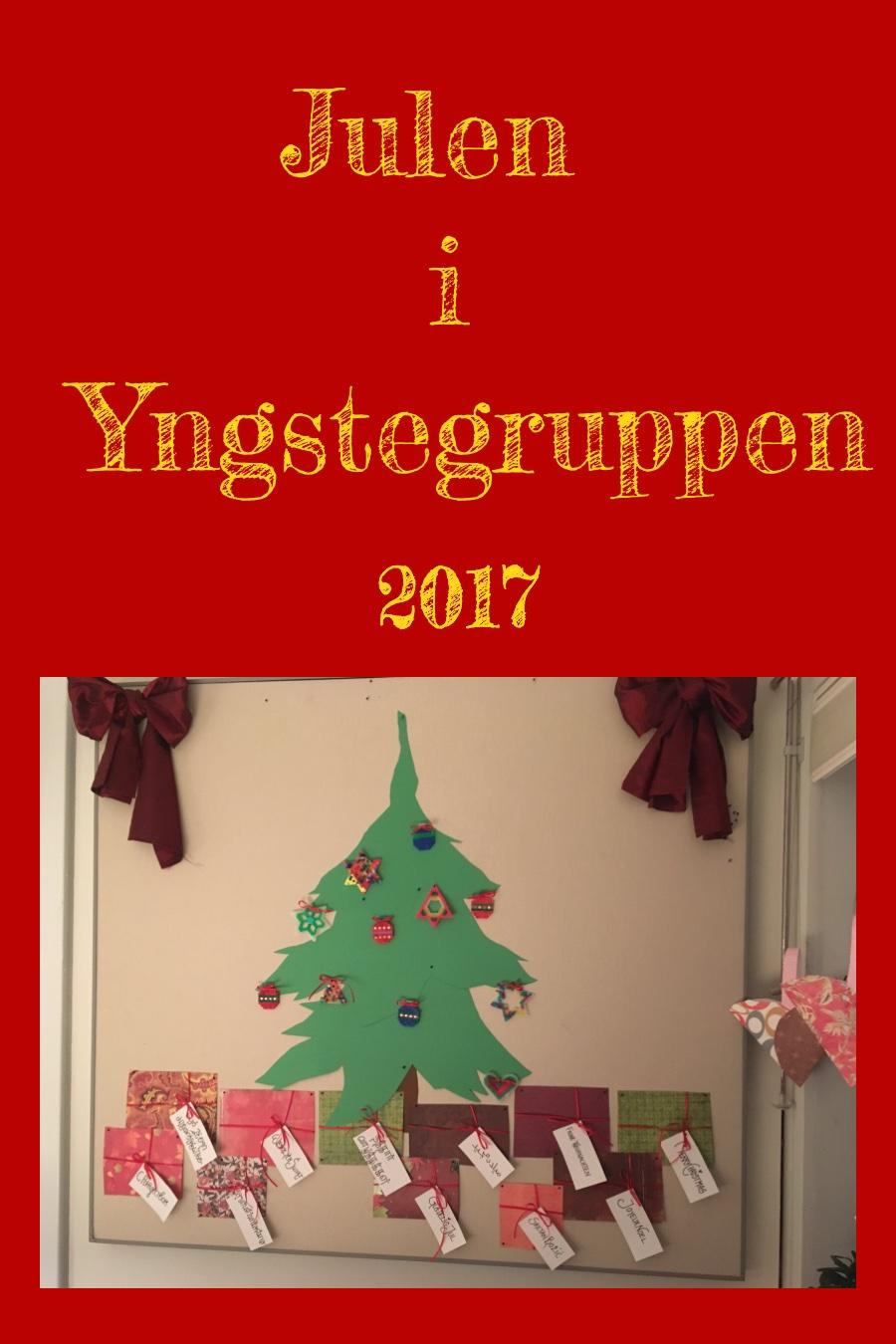 Julen i yngstegruppen 2017