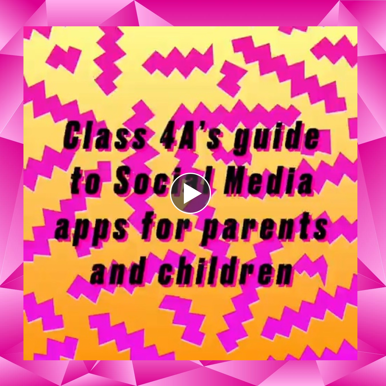 Class 4A's guide to Social Media