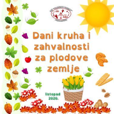 Dani kruha i zahvalnosti za plodove zemlje