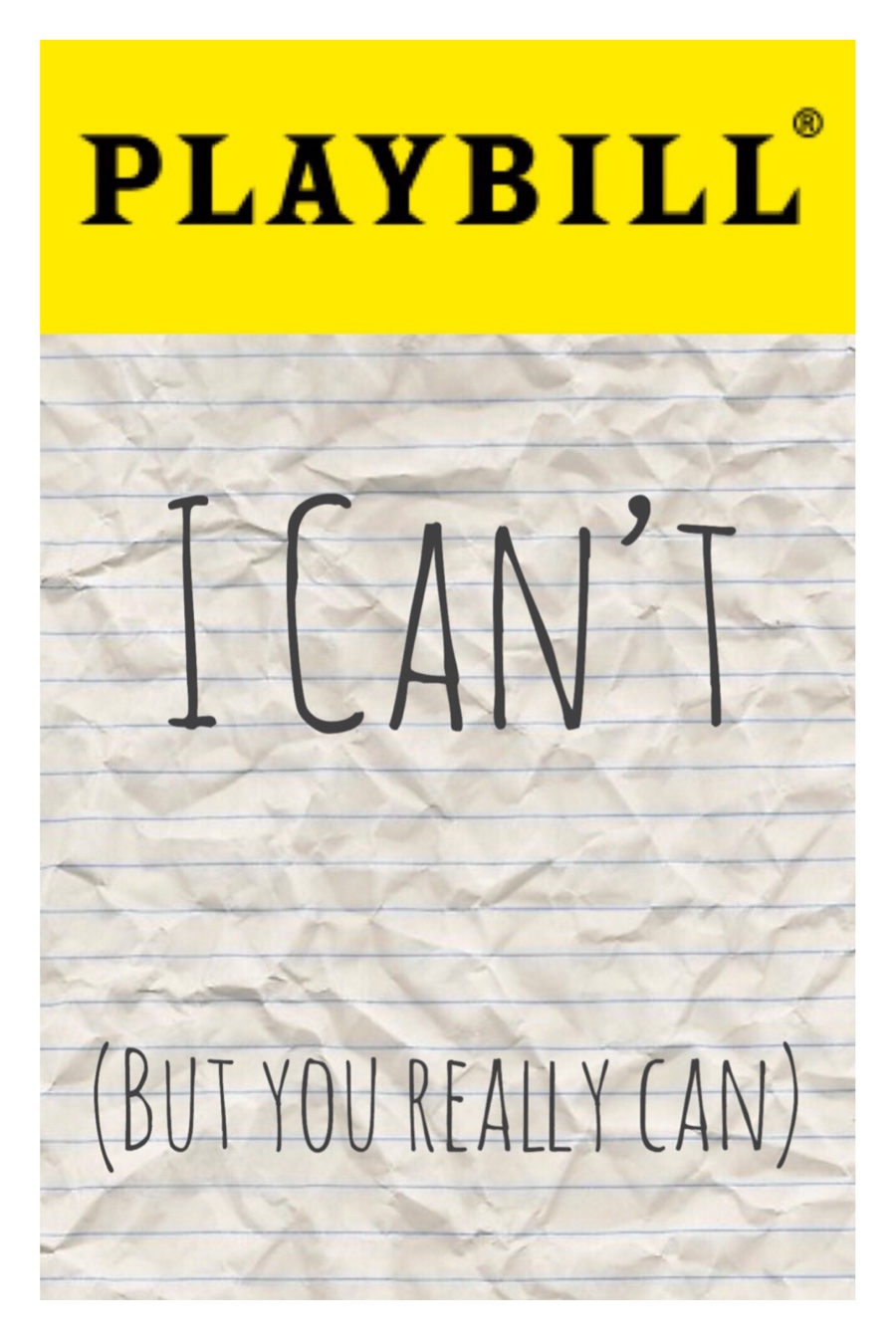 I Can't (But You Really Can)