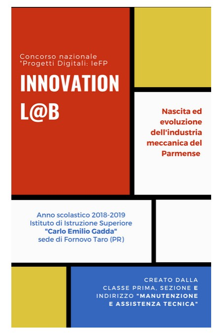 """""""Progetti Digitali-IeFP: Innovation L@b, Istituto di Istruzione Superiore Carlo Emilio Gadda_PRIS00800P"""""""