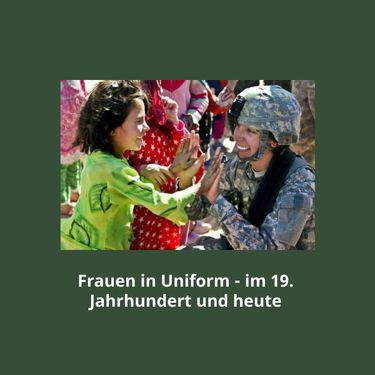 Frauen in Uniform und Trikot