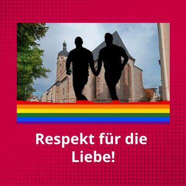 Respekt für die Liebe!