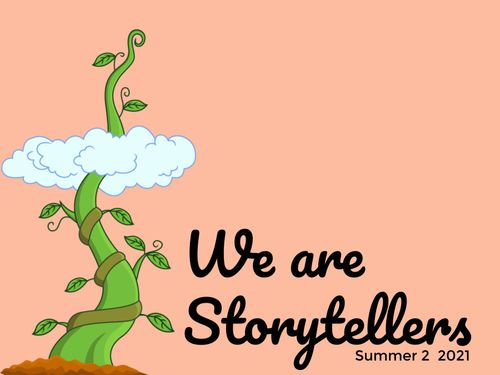 We are Story Tellers