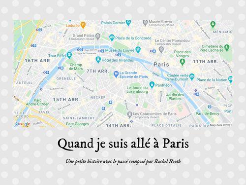 Quand je suis allé à Paris