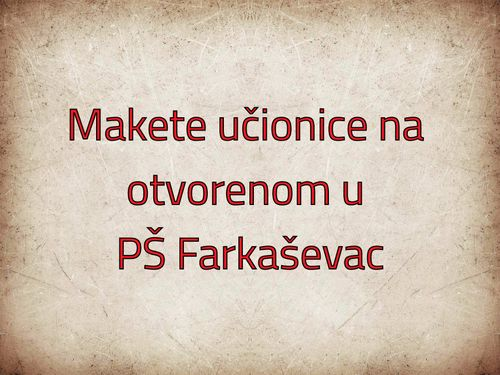 Makete