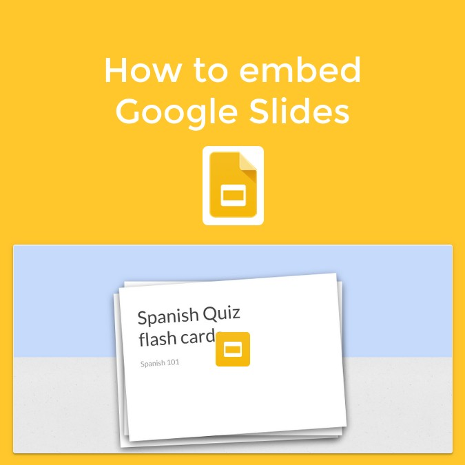 How to embed Google Slides in Book Creator