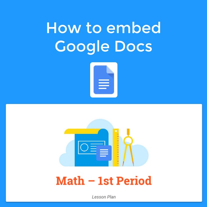 How to embed Google Docs in Book Creator