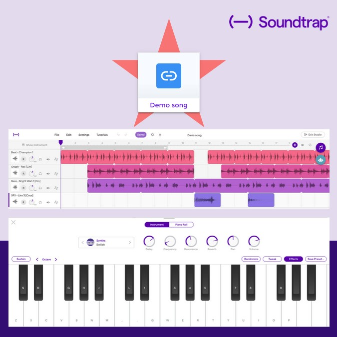 Embedding Soundtrap in Book Creator