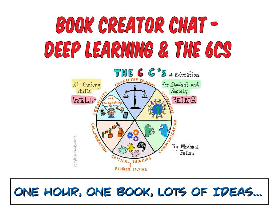 #BookCreator chat 26 Oct 2017
