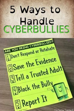 5 Ways to Handle Cyberbullying