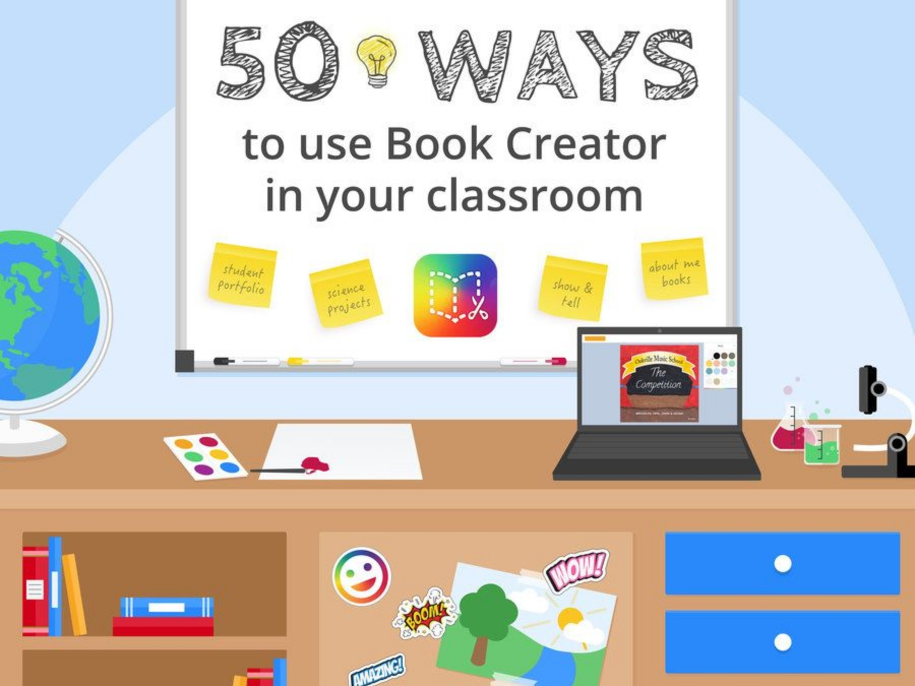 50 ways to use Book Creator in your classroom