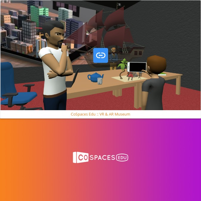 Embedding CoSpaces Edu in Book Creator