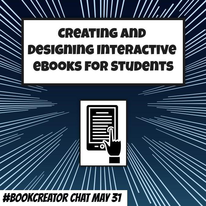 #BookCreator chat 31 May 2018