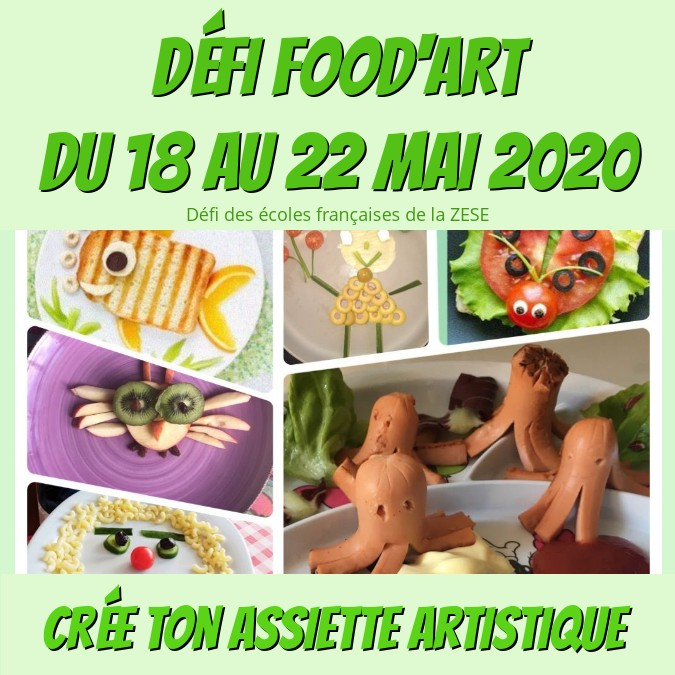 Défi Food'art