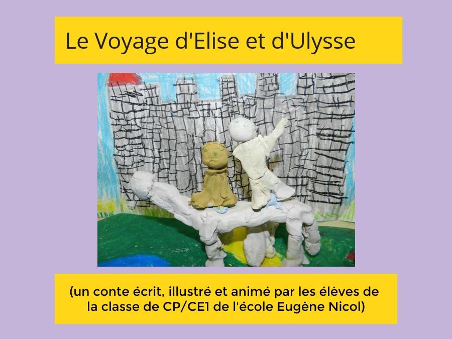 Le voyage d'Elise et d'Ulysse