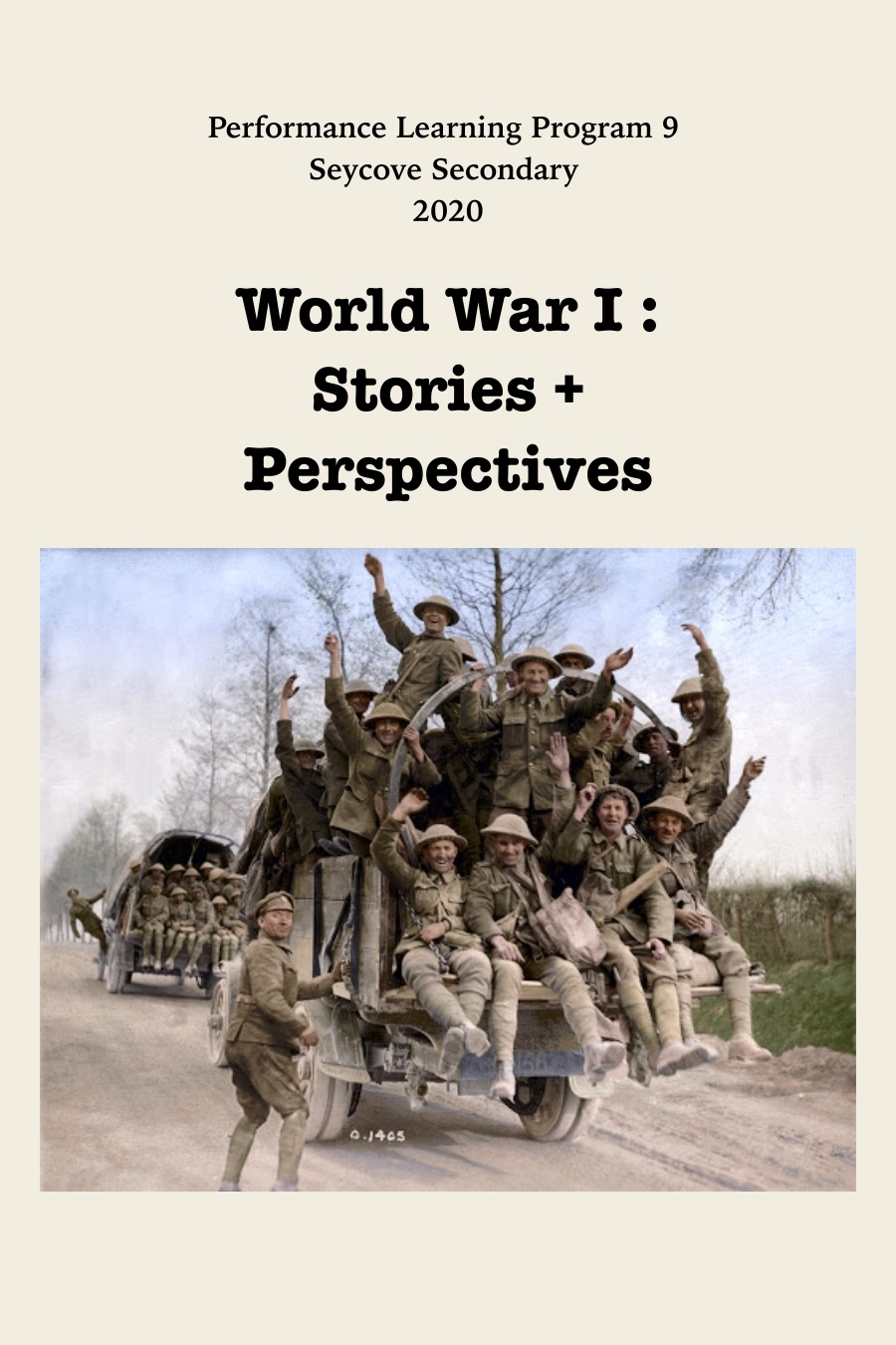 WWI: Stories and Perspectives