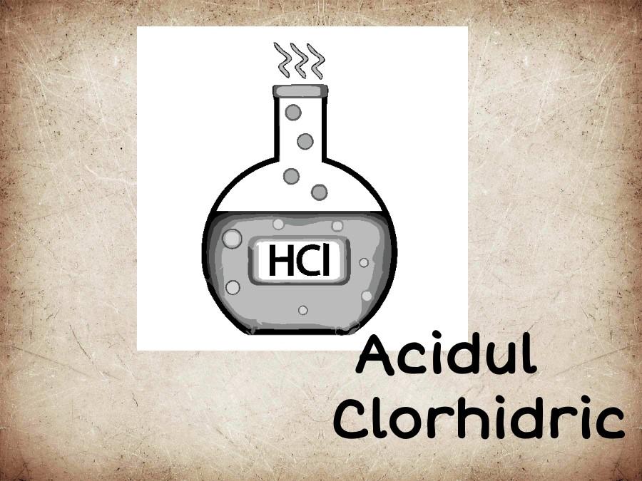 Acidul Clorhidric clasa 9
