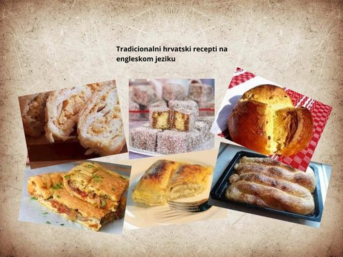 Hrvatski recepti na engleskom jeziku