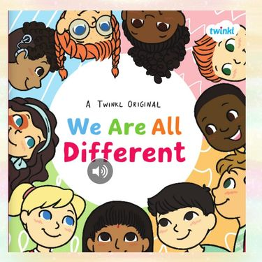 We are all different.