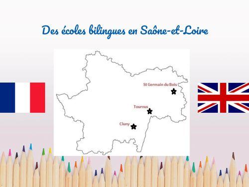 Des classes bilingues en Saône-et-Loire