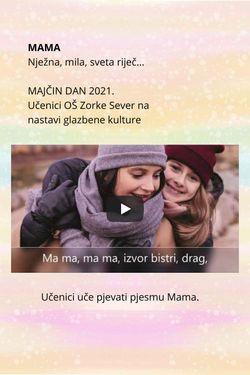 Majčin dan 2021. Zorka