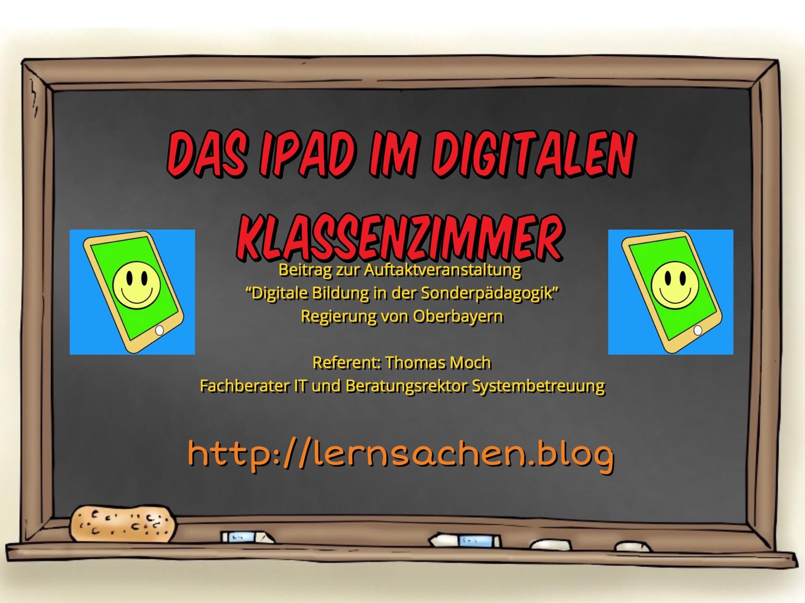 Das iPad im digitalen Klassenzimmer