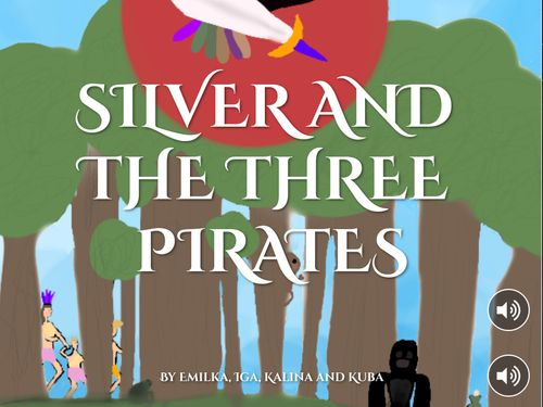 SILVER AND THE THREE PIRATES