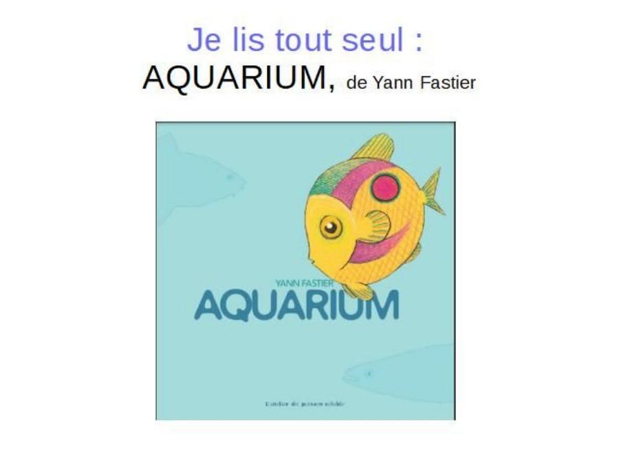 lecture CP - Aquarium