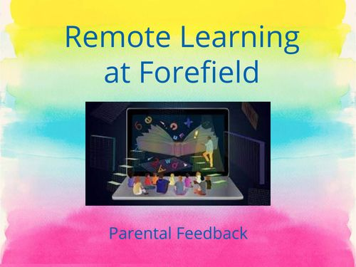 Parental Feedback on Remote Learning